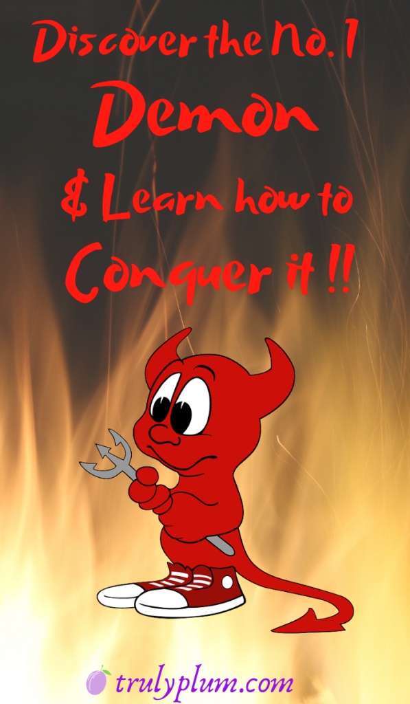 Discover the number one demon and learn how to conquer it in affiliate marketing