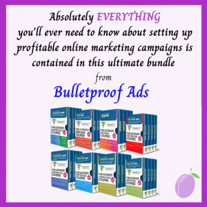 Every Bulletproof Ads training course in an epic bundle - everything on how to run profitable online marketing and affiliate marketing campaigns