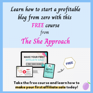Learn how to start a profitable blog - FREE course